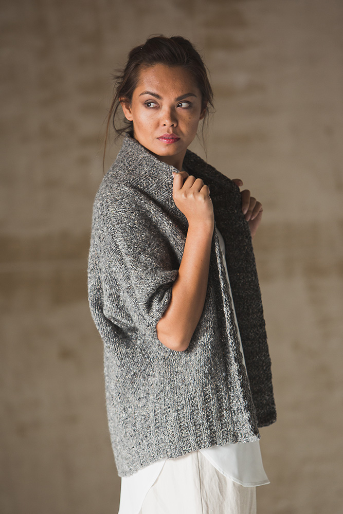 knit.wear Wool Studio Falmouth Cardigan by Kate Gagnon Osborn in The Fibre Co. Arranmore