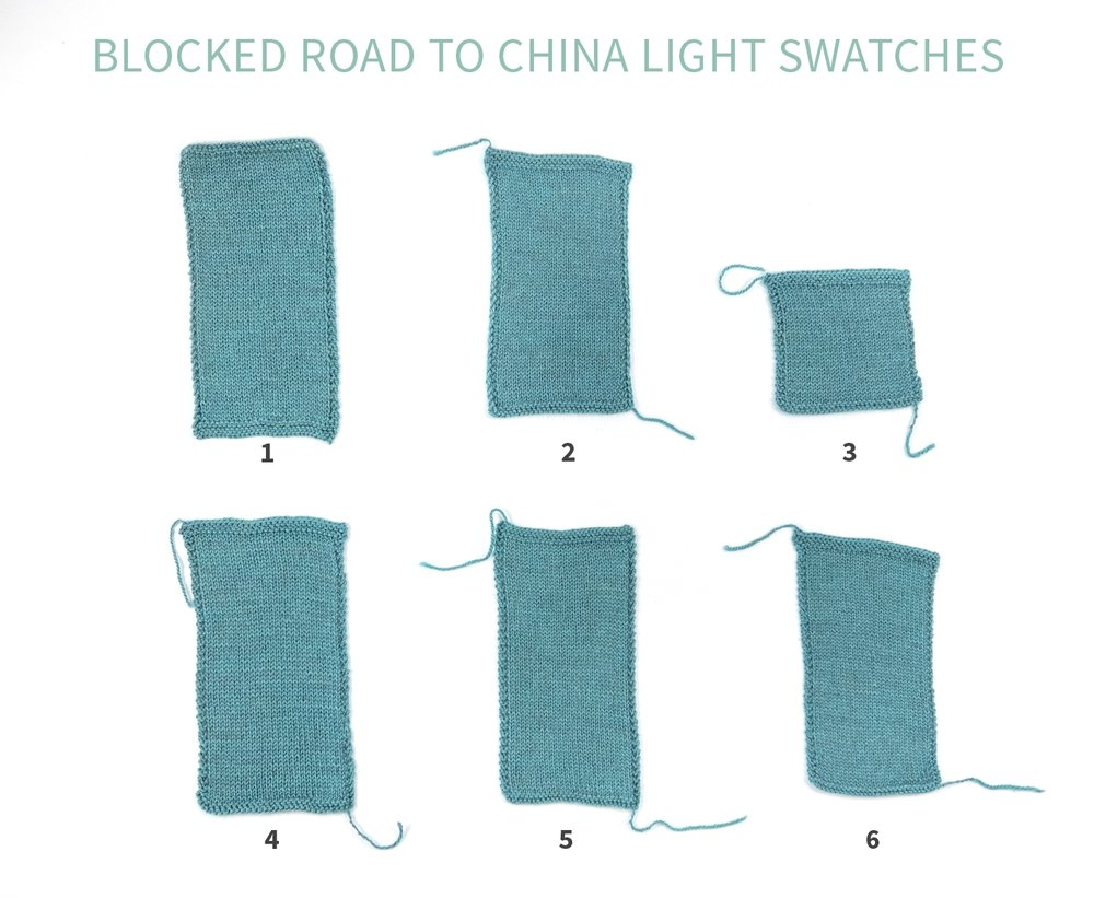 KW Swatch Experiment: The Fibre Co. Road to China Light