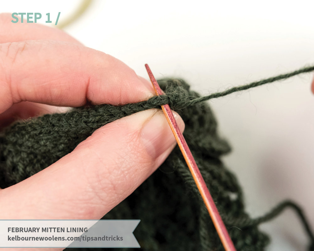KW Tips and Tricks: February Mitten Lining
