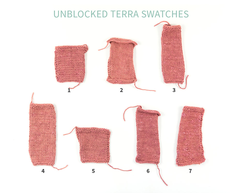 KW Swatch Experiment: The Fibre Co. Terra