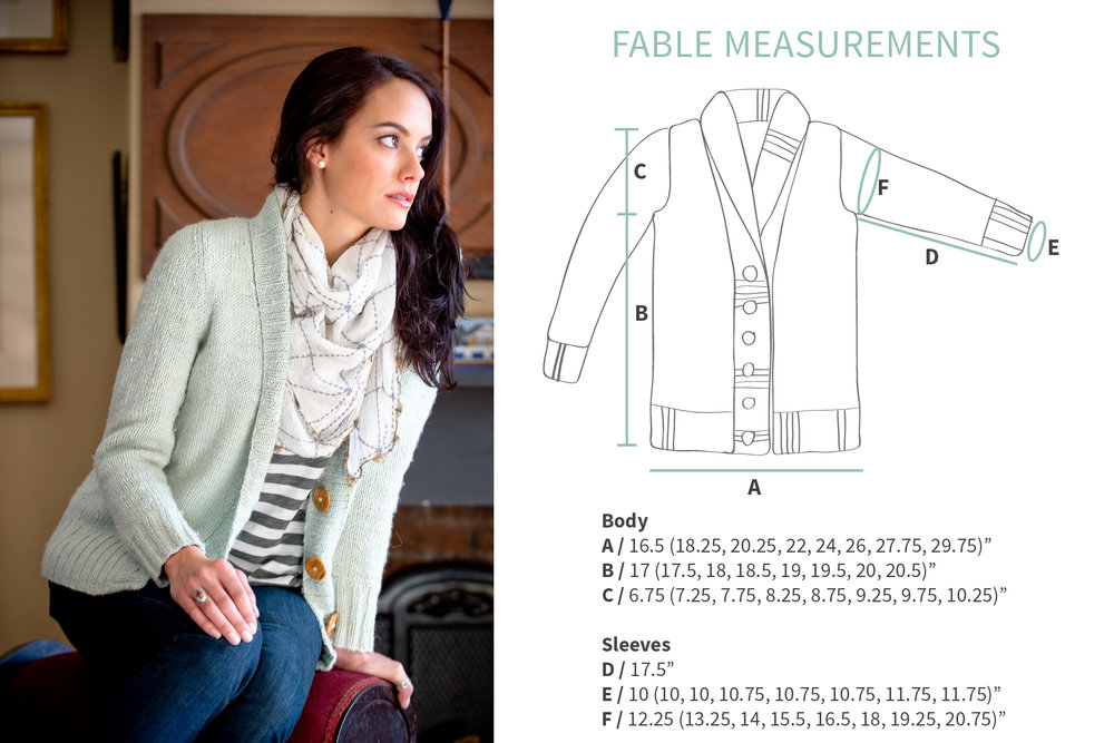 KW Swatch Experiment: The Fibre Co. Terra Fable Cardigan