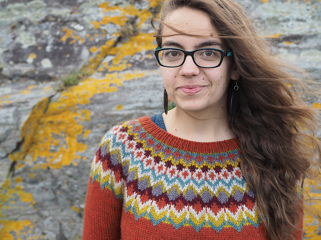 Second Grace sweater in Fibre Co. Cumbria