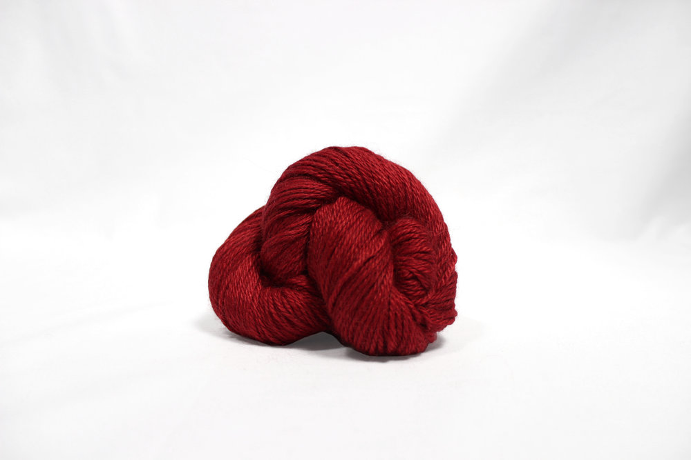 the fibre co. road to china light yarn red jasper