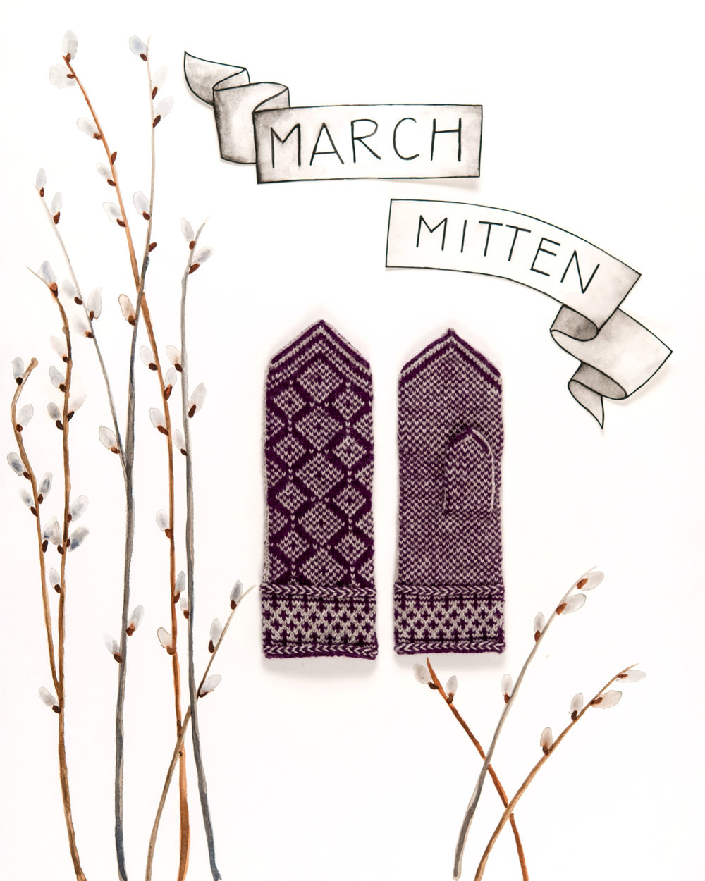 Year of Mittens March Mitten