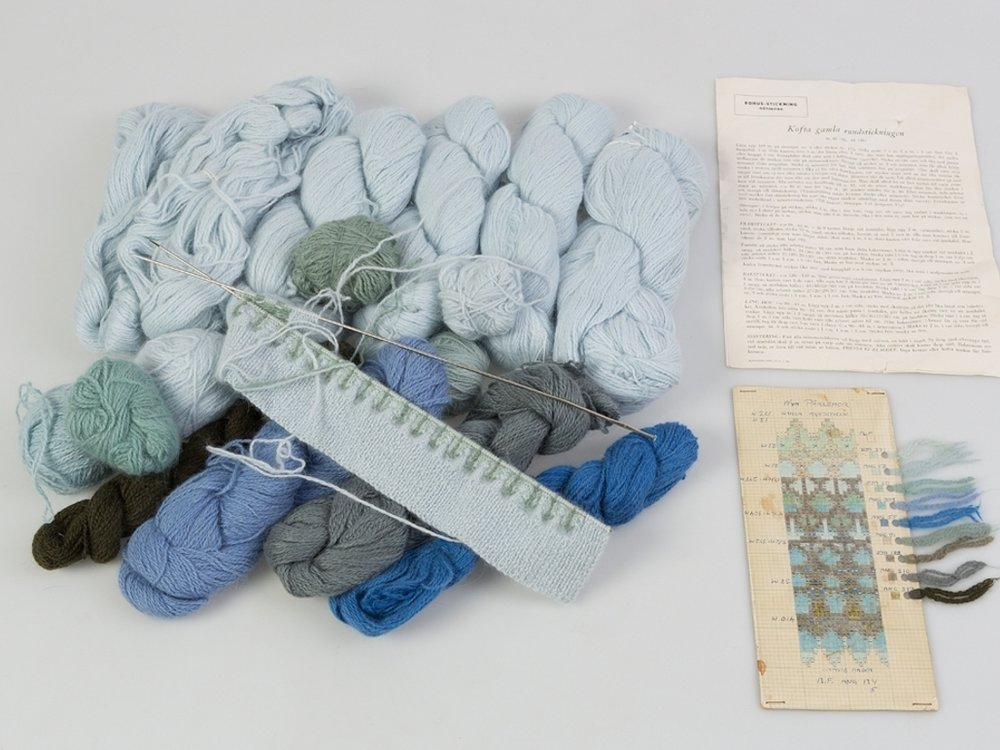 Bohus Knitting kit from the Bohuslan Museum