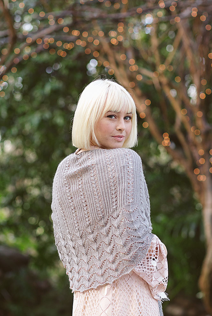 Helenas Shawl by Lori Wagner. Image © Harper Point Photography