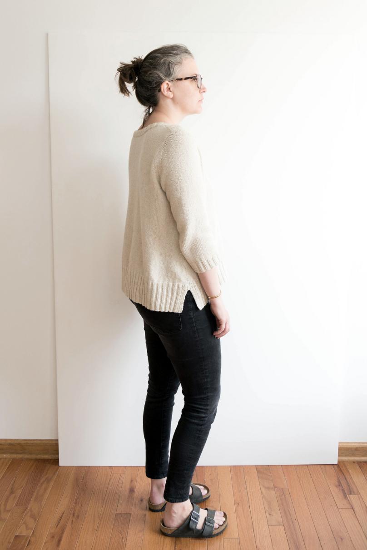 Bateau Style Sweater by Jen Beeman