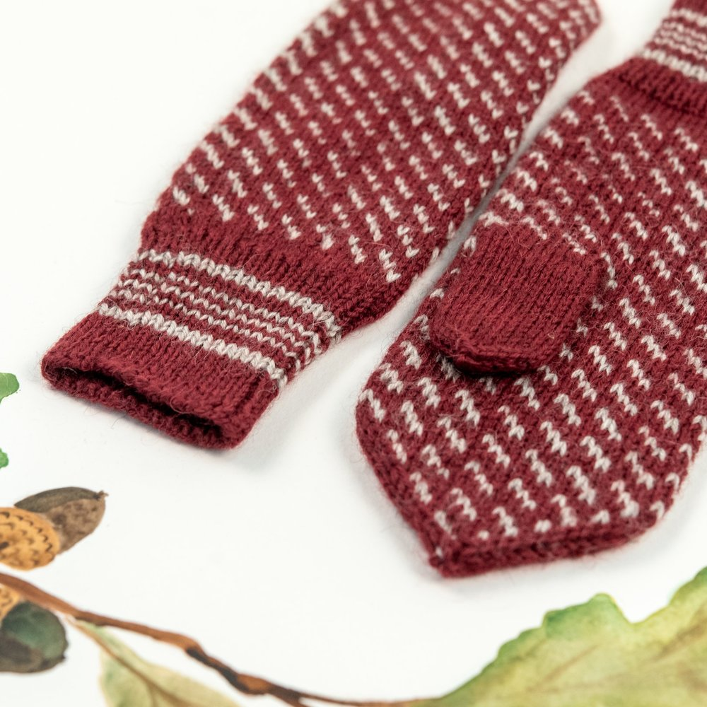 November Mittens by Courtney Kelley