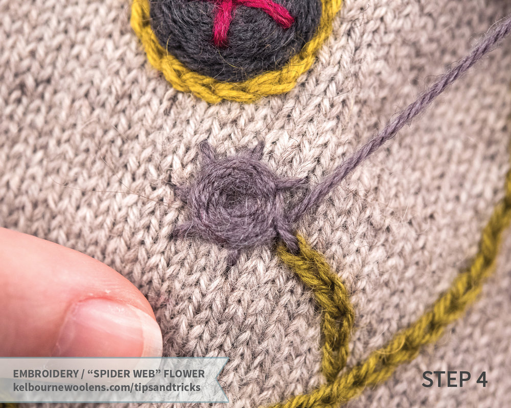 July Mittens Tips + Tricks: Embroidering on Knitting