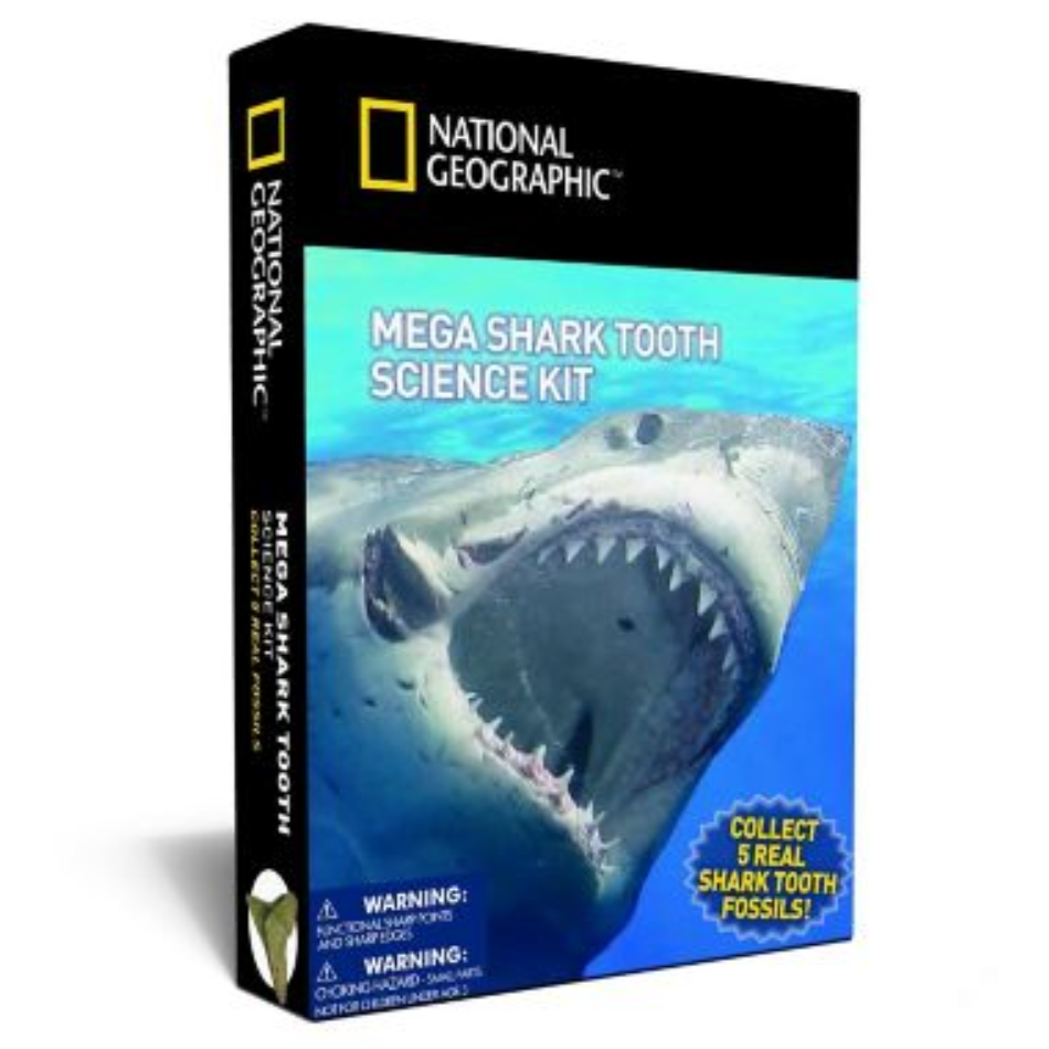 Mega Shark Tooth Science Kit
