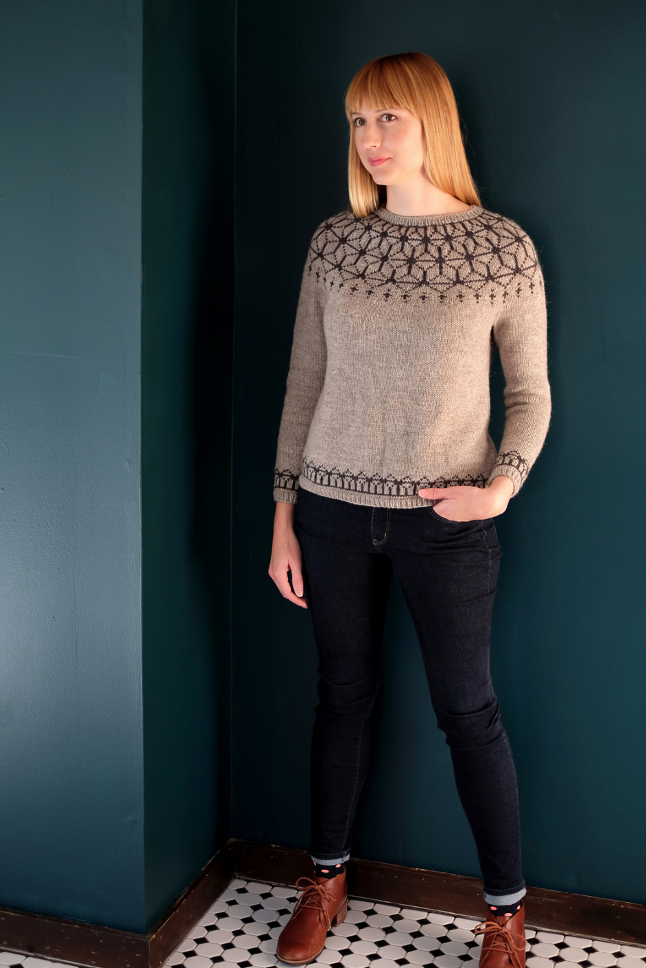 Tensho Pullover by Beatrice Perron Dahlen