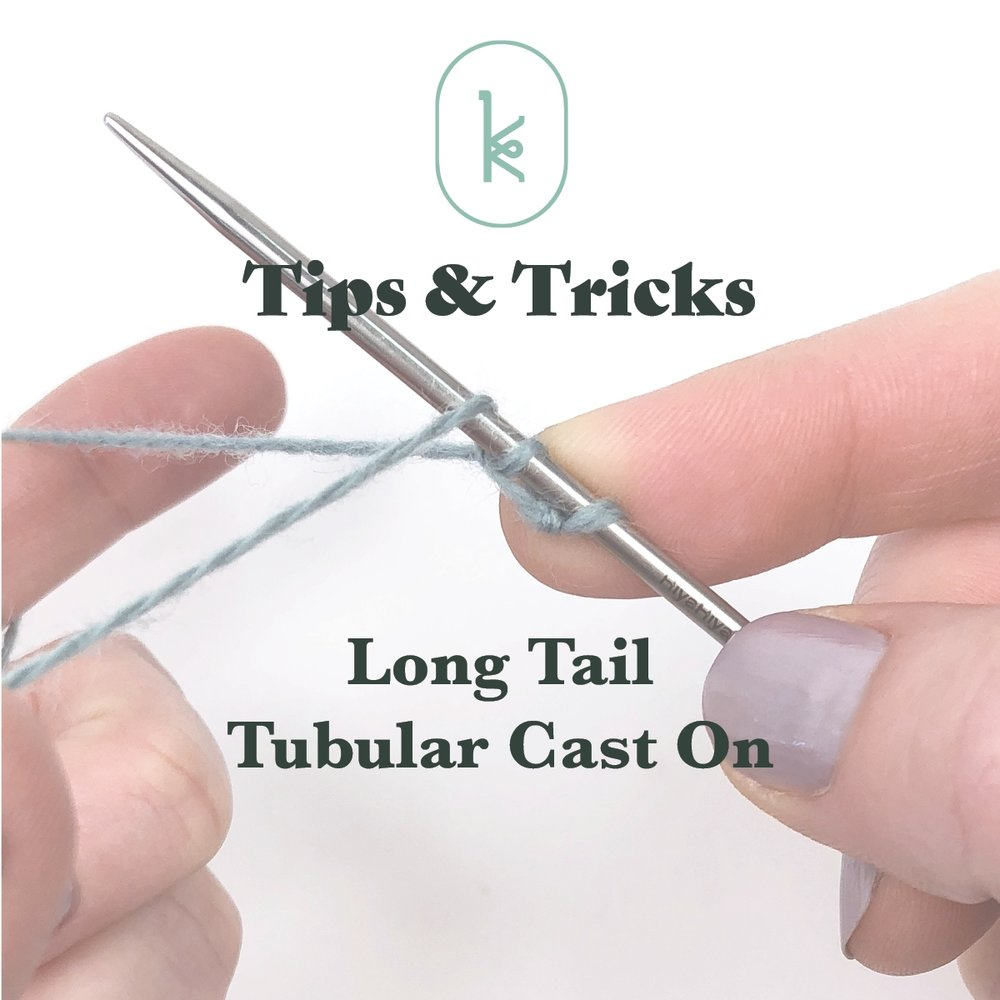 Long Tail Tubular Cast On Tutorial