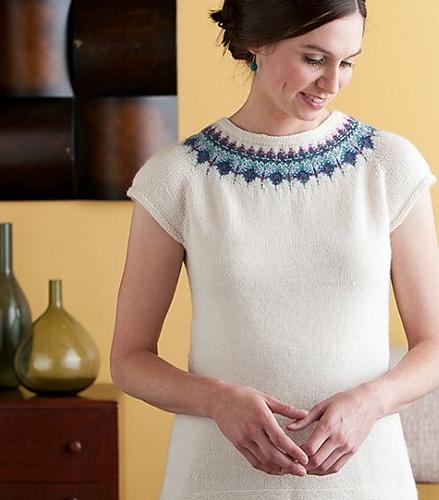 Seurat Pullover by Courtney Kelley Kelbourne Woolens
