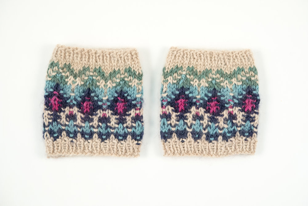 knit bohus wristwarmers kelbourne woolens courtney kelley