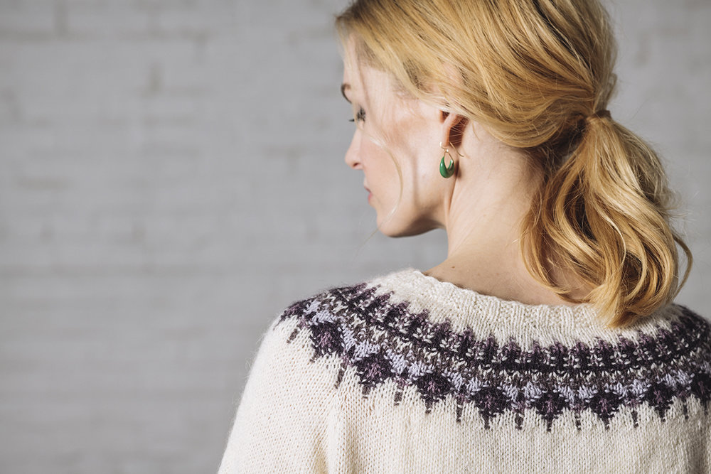 Jenny by Courtney Kelley in Kelbourne Woolens Andorra