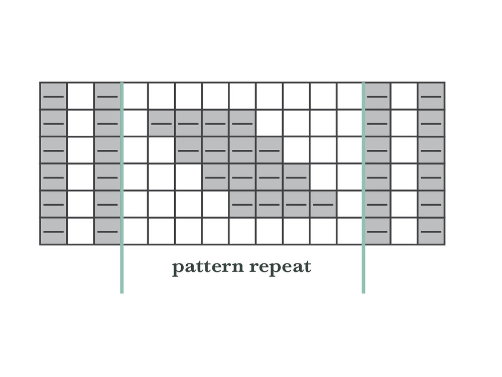 KW Tips and Tricks / Working From Charts: Knit / purl patterning