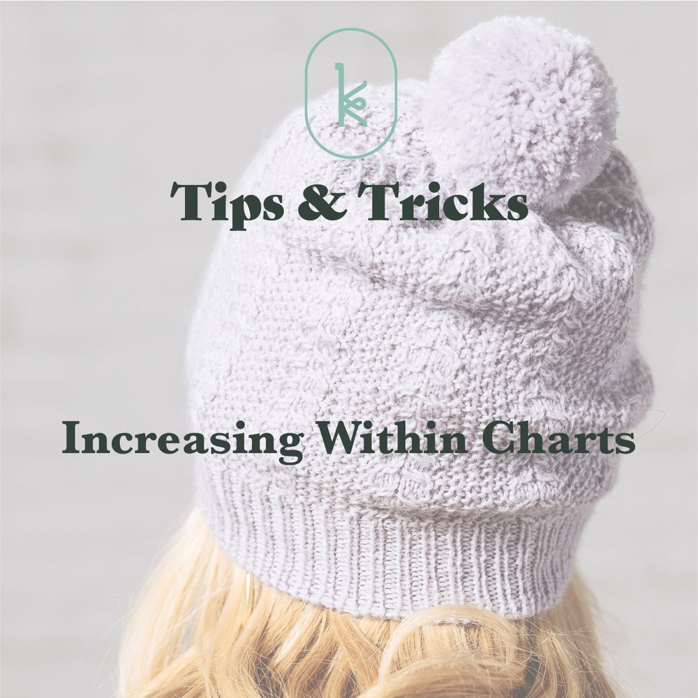 Kelbourne Woolens Tips and Tricks Increasing Within Charts