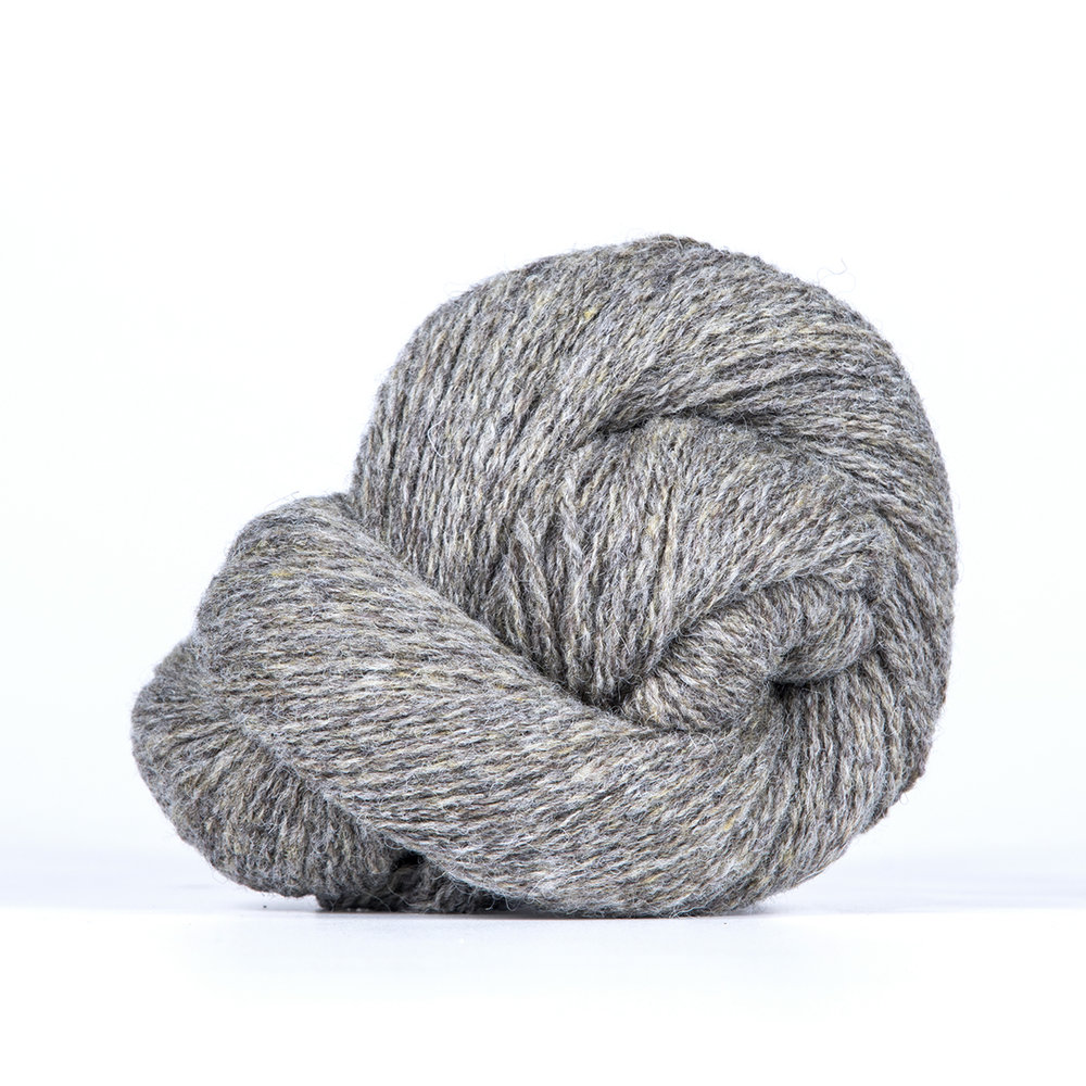 BIO SHETLAND /    100% Organic Wool  306 yds (280 m) / 50 gm hank