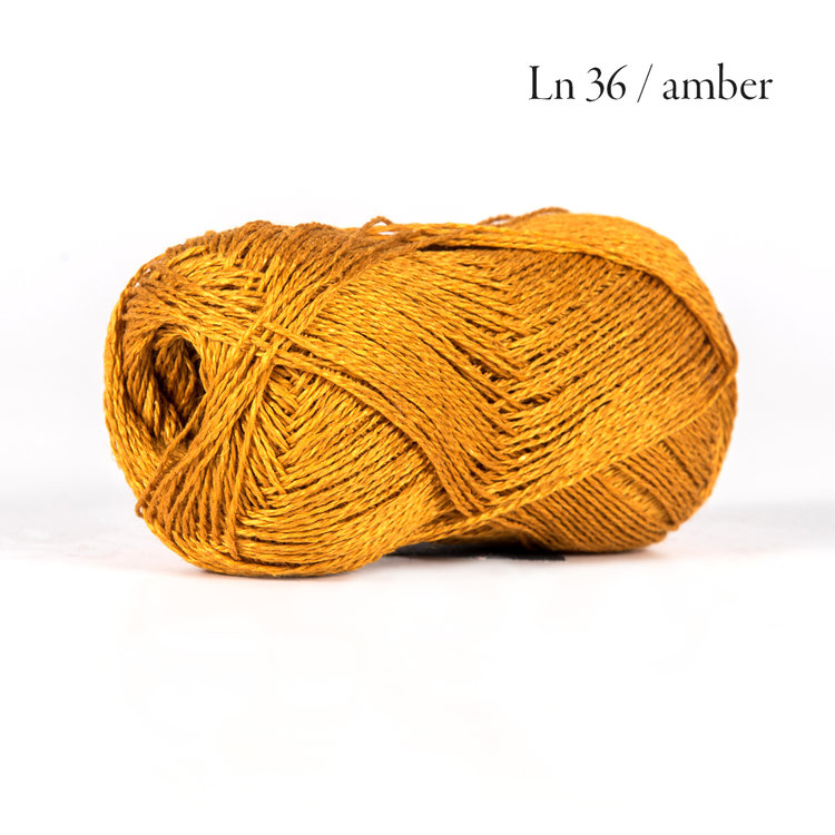 BC Garn Lino amber