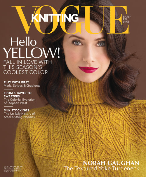 Designer Feature Yoked Pullover By Norah Gaughan Vogue Early Fall
