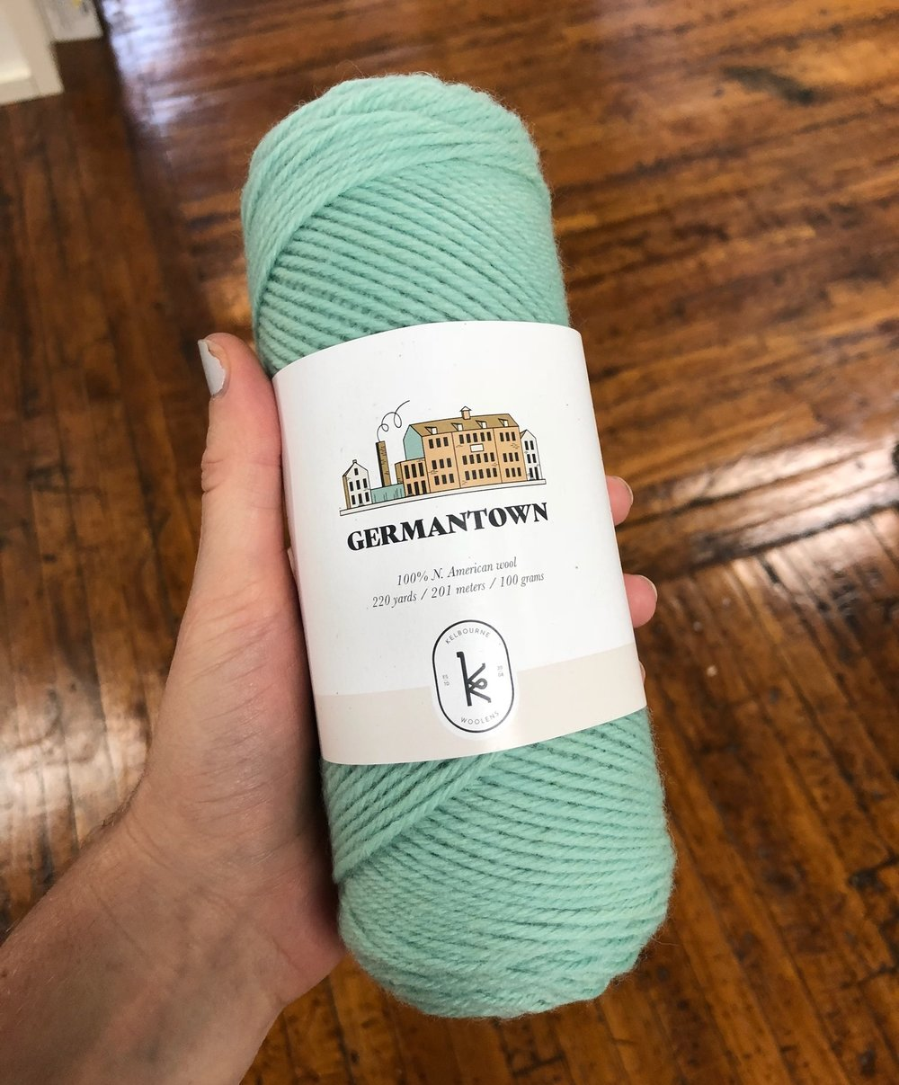 Kelbourne Woolens Germantown Jade
