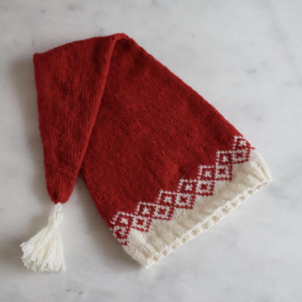 Bohéme Christmas Hat by Faroe Knit