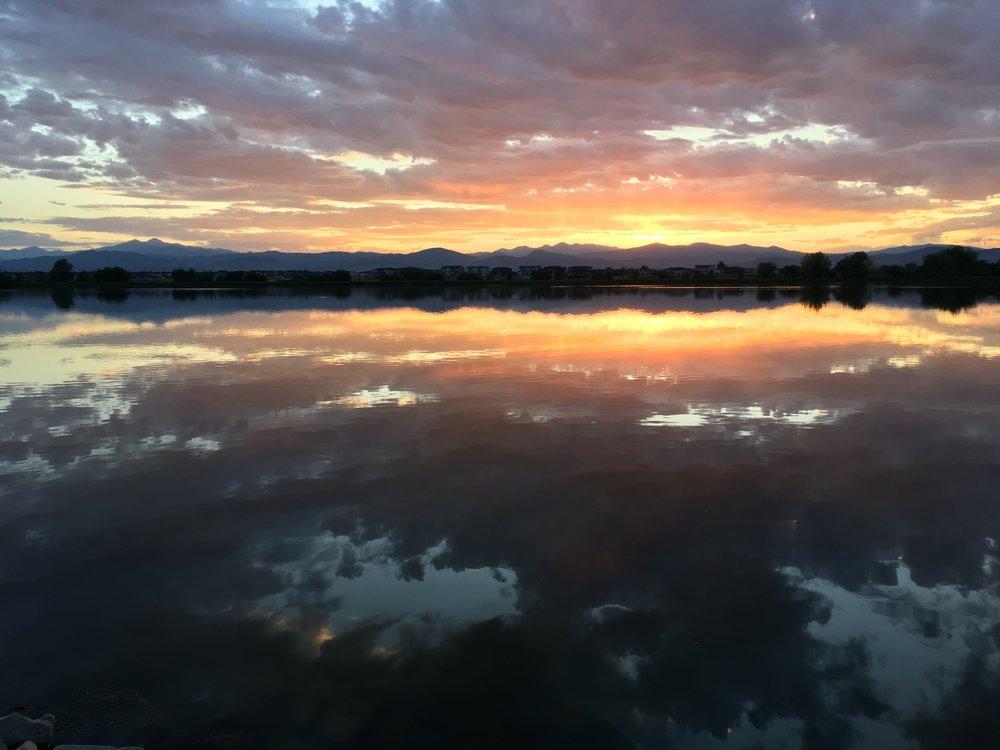 Rocky Mountain Sunset to...