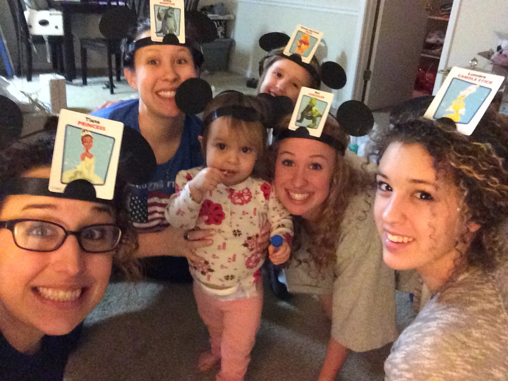 I added a picture of our game night with our sister Sherillyn and her daughter Evelyn because, well, we're all friends and it was a super fun night.