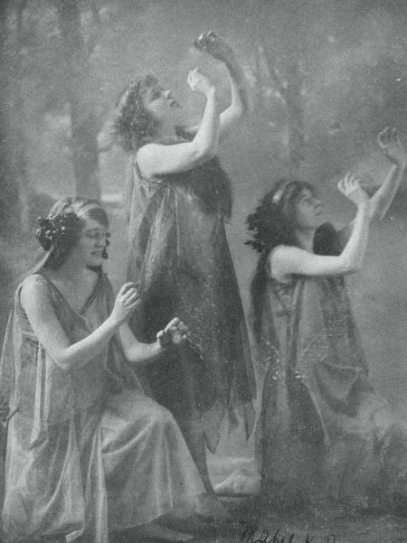Denishawn Dancers, ca 1914