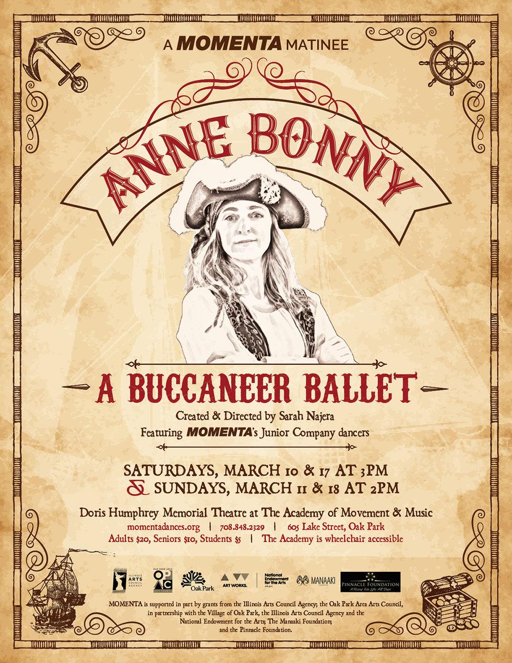 Anne Bonny: A Buccaneer Ballet