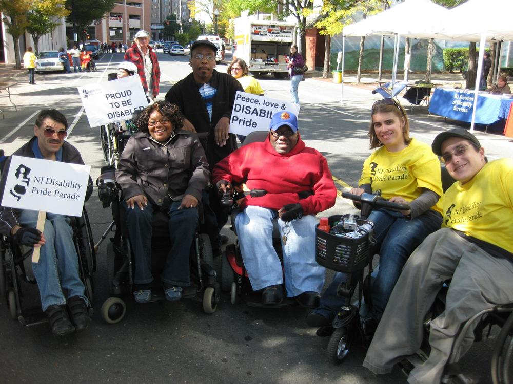 Parade participants show their disability pride!