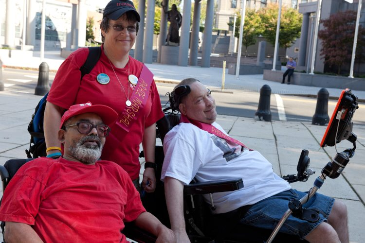 Barbara, Bob, and Bernie (Parade Marshals).