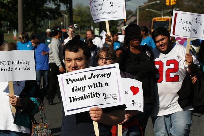 The NJ Disability Pride Parade marches through Trenton!