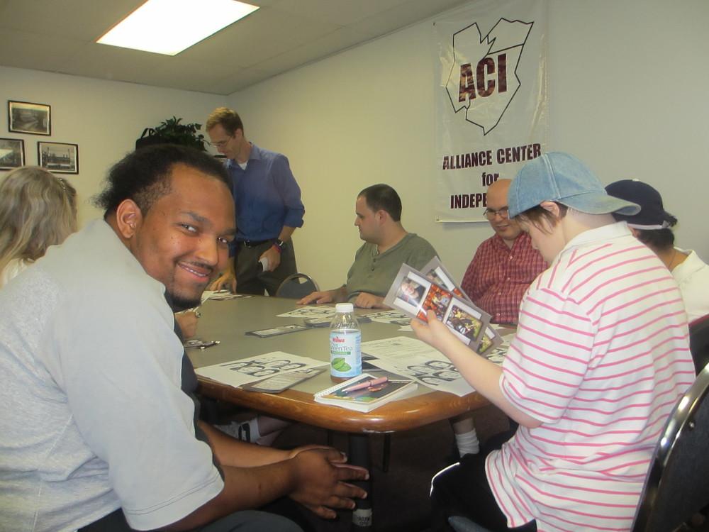 Participants in Office Workplace Etiquette workshop.