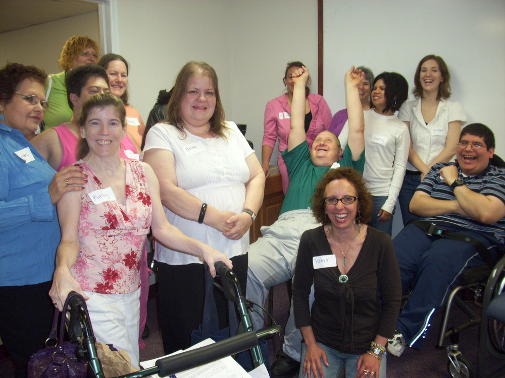 Enthusiastic participants of an Alliance program.