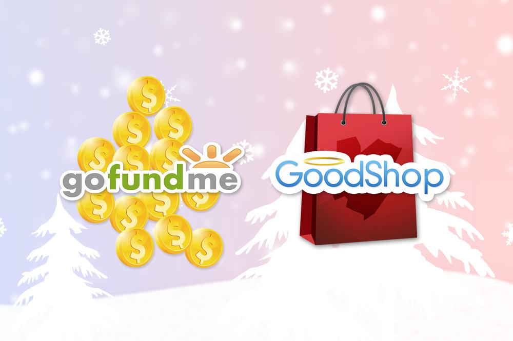 GoFundMe & GoodShop banner