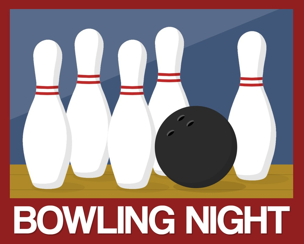 Bowling Night Banner