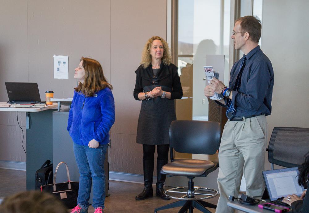 ACI Speaks to Kean University Interior Design Class