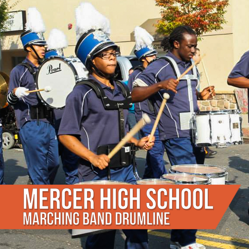 Mercer High School Drumline