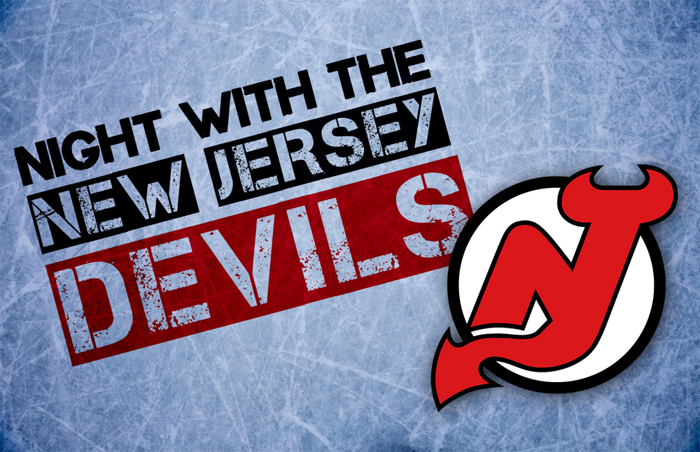 Night with the New Jersey Devils