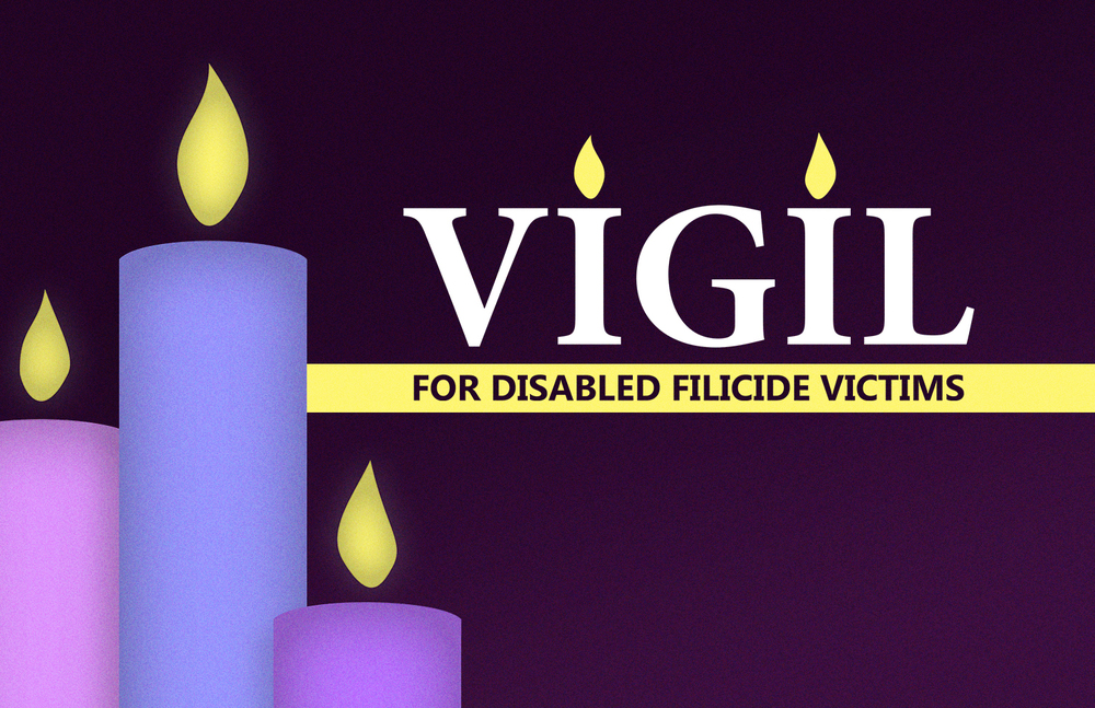 Vigil for Disabled Filicide Victims