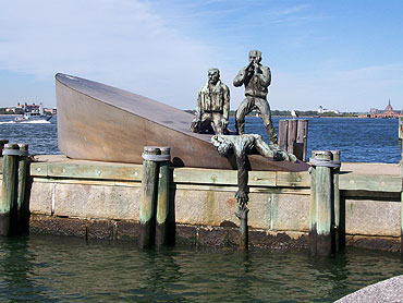 Merchant Marine Memorial, Battery Park, NYC