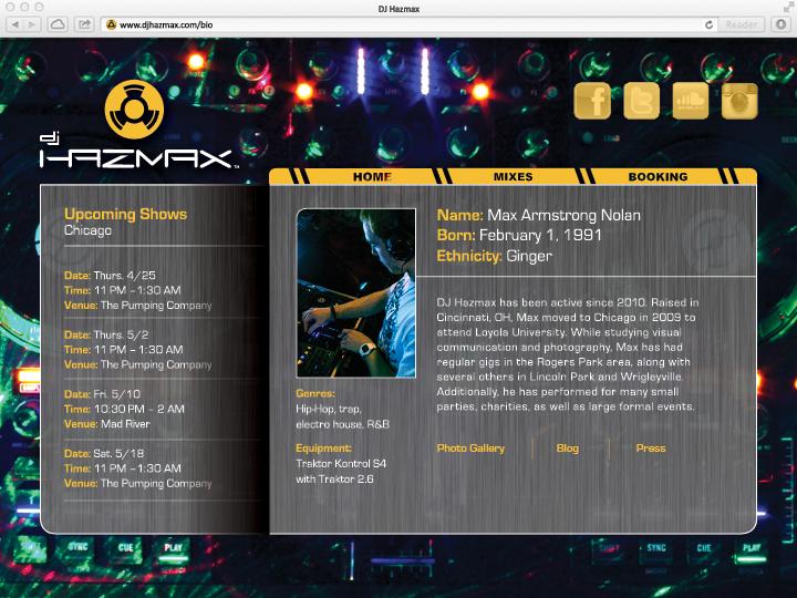 Website – bio