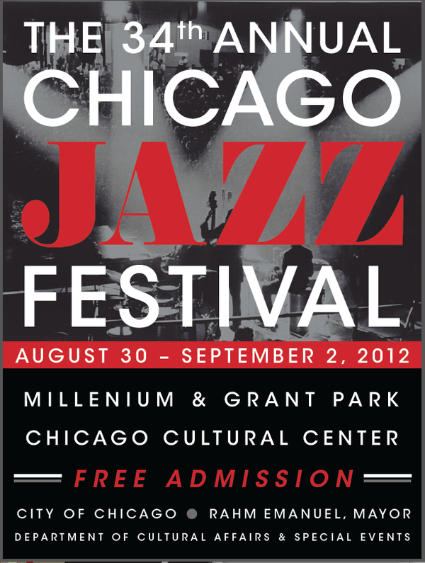 Poster for Chicago's Jazz Festival