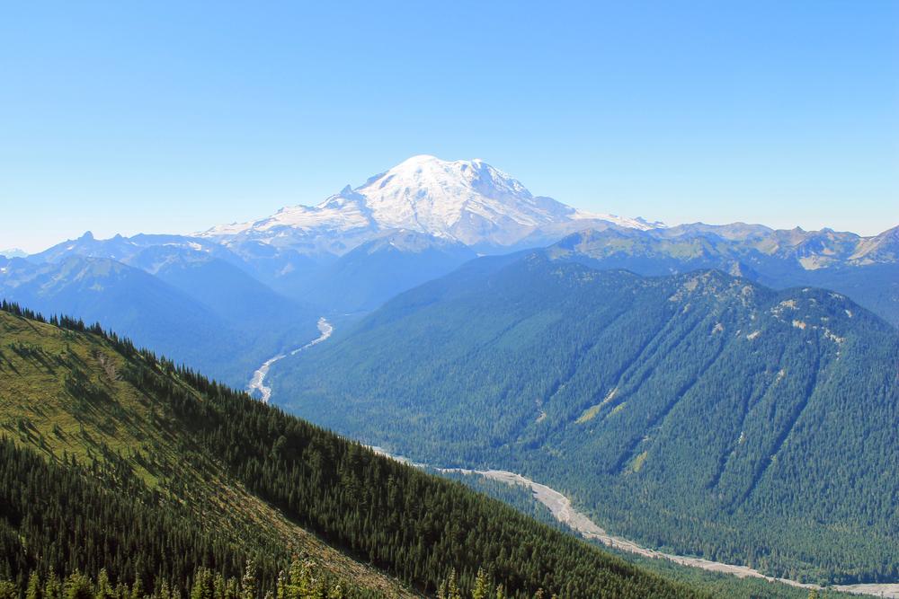 Mt. Rainier outside of Seattle.