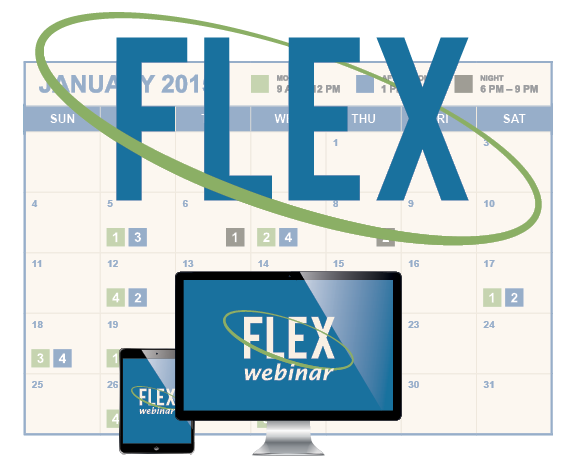 """Flex"" Program Logo"