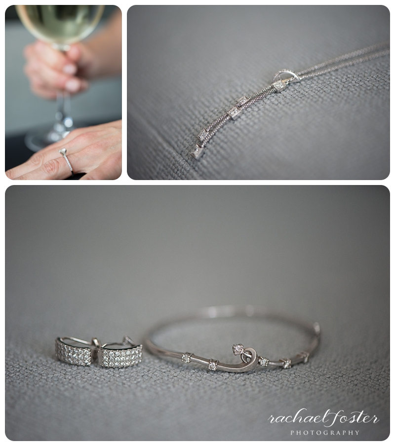 Bride's Jewelry at Lorien Hotel and Spa in Alexandria, VA