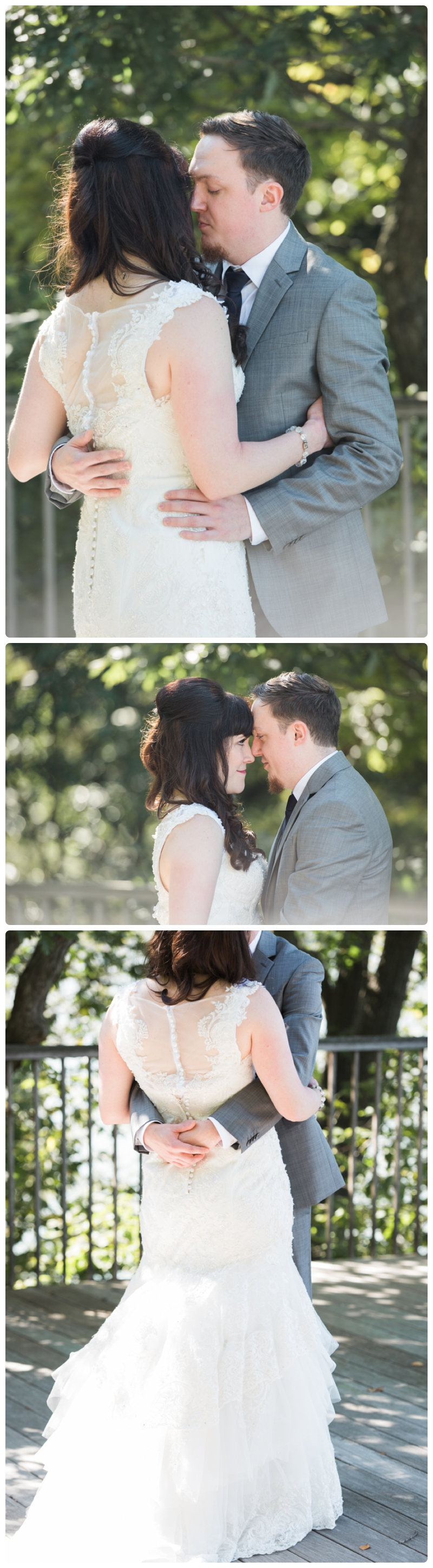 Backyard forest wedding in the Chicago suburbs by Rachael Foster Photography_0010.jpg