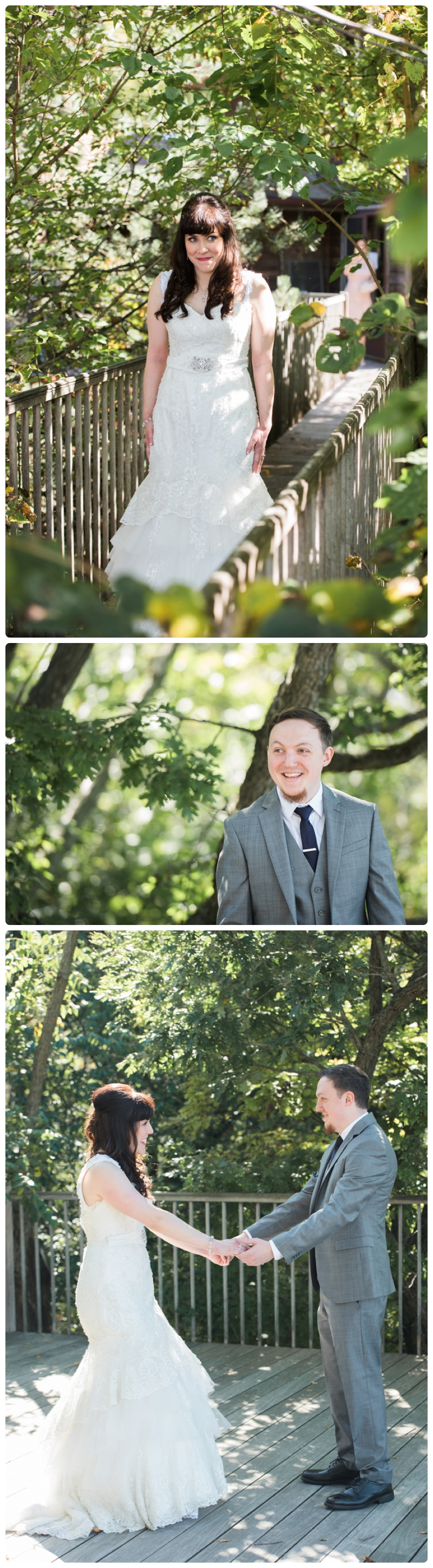 Backyard forest wedding in the Chicago suburbs by Rachael Foster Photography_0009.jpg