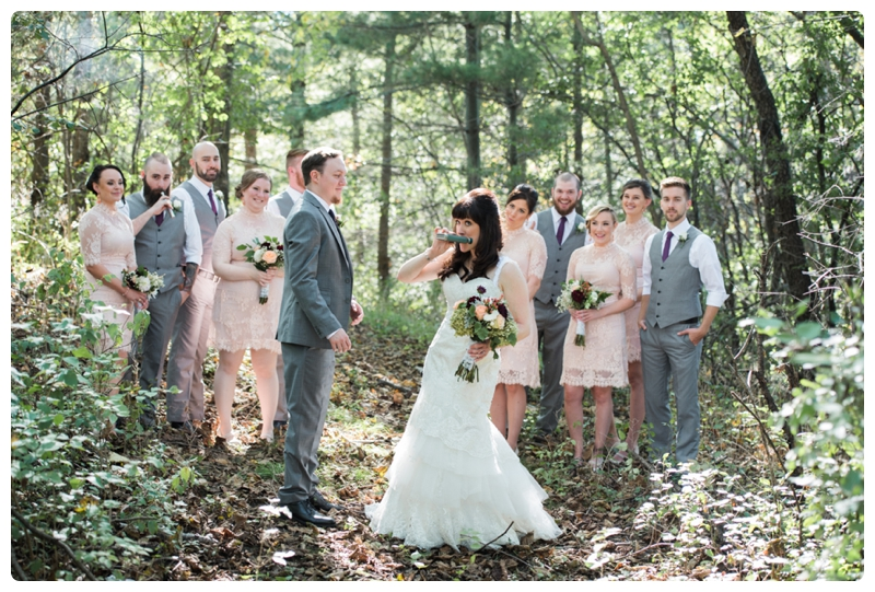 Backyard forest wedding in the Chicago suburbs by Rachael Foster Photography_0015.jpg